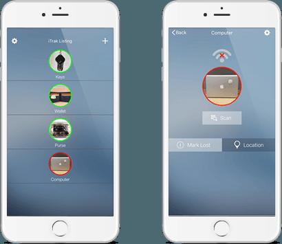 iTrak android iOS App