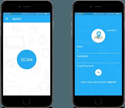 Spottrz iOS app