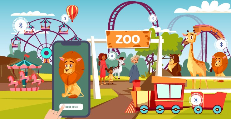 Beacon App for Zoos and Theme Parks