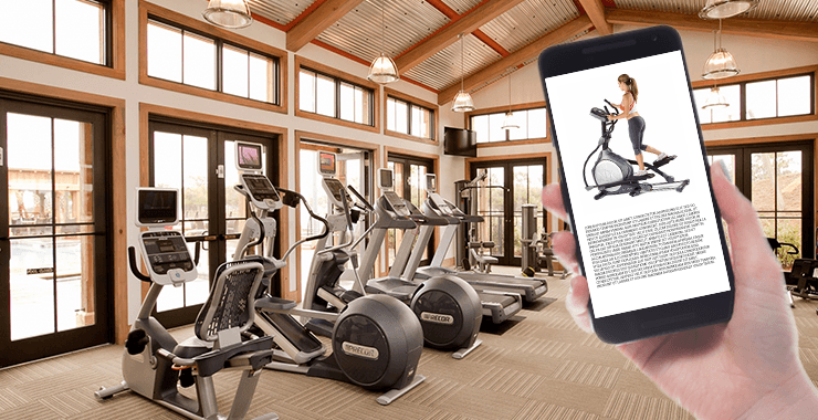 Beacon Technology in Fitness Centre