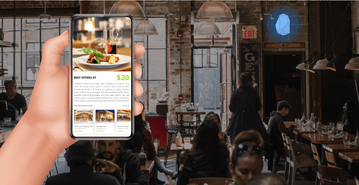 beacons in restaurants