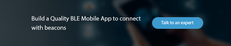 contact BLE mobile apps