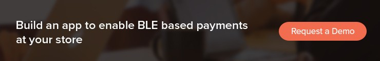 contact less payment app with BLE Mobile apps